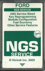 Ford Ngs Obd2 Diagnostic 1994 To 2005 12 4 Green Card