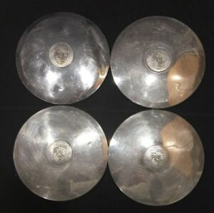Set Of 4 Porsche 356 911 912 Factory Oem Wheel Center Rim Cap Hub Cover Lug Sc 3