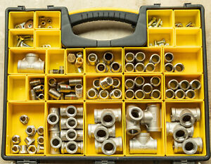 Stainless Steel 304 Npt Pipe Fitting Assortment