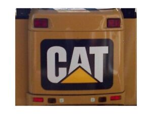Cat Decal Sticker Rear Engine Door Skid Steer Loader 216 226 236 242 246 252 277