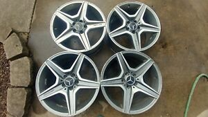 18 Inch Mercedes Benz Rims Amg Staggerd Used