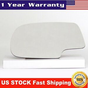 Mirror Glass Left Lh Side Full Adhesive For Chevy Silverado Gmc Yukon Avalanche