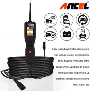 Ancel Pb100 Probe Circuit Tester Car Battery Test 12v 24v Dc ac Power Scan Tool