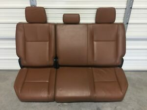 2007 2013 Tundra Double Cab Limited Rear Leather Seat 09 10 11 12