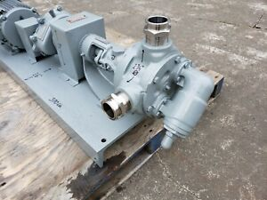 Viking Pump K 124 2 Cast Iron Complete W 2 Hp Motor And Gear Reduction Drive