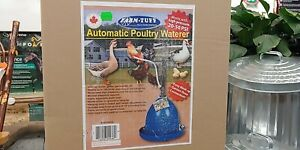 Farm Tuff Automatic Poultry Waterer