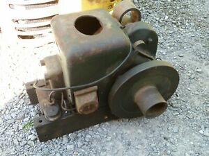 Fairbanks Morse Model Z Type D 1 1 2 Hp Stationary Gas Engine Running Original