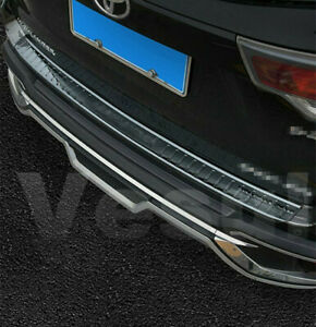 Fit For Toyota Highlander 2014 2019 Steel Rear Bumper Protector Sill Plate Guard