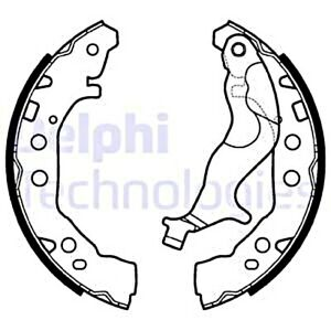 Delphi Brake Shoe Set For Suzuki Celerio 14 53200 84m00