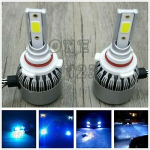 9005 Hb3 Cree Led Headlight Bulb Conversion Kit High Low Beam 8000k Ice Blue 55w