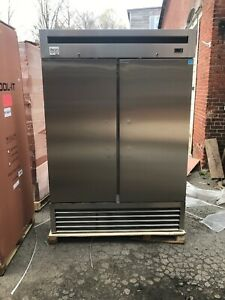 Mvp Ikon Kb54f 2 Door Reach In Commercial Stainless Freezer