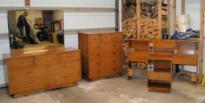 Mid Century Modern 4 Piece Bedroom Set The Atwood By Kent Coffey