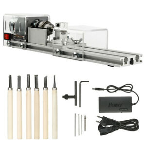 Ophir 100w Cnc Mini Lathe Machine Tool Grinding Polishing Beads Drill Rotary