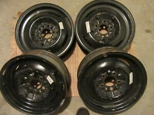 1951 Plymouth Concord Fastback 4 Rims For Sale Original Wheels Off My Car