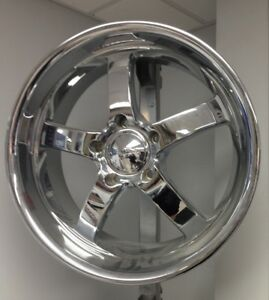 American Racing 335 Boss Wheel 20 Chrome 20x8 5 5 On 5 5 25mm Offset New