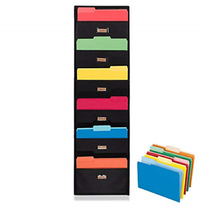 Ronny s Cascading Wall File Paper Organizer Waterproof Wall Hanging File 6