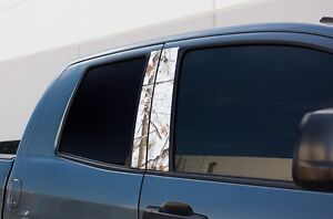 Vinyl Decal Window Pillars Wrap For Toyota Tundra 07 13 Parts Tundra Camo