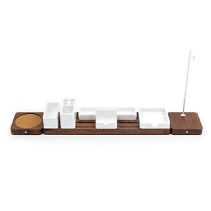 Gather Modular Desk Organizer Extension Kit By Ugmonk Minimalistic Wooden