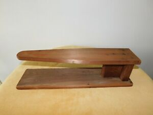 Vintage Small Wooden Tabletop Ironing Board