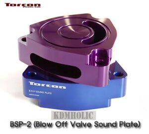 Torcon bov Blow Off Valve Sound Plate Ver 2 For Hyundai Veloster Turbo 13 17