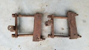 Farmall H Tractor Hitch Mounting Brackets