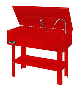 Homak 40 Gallon Parts Washer Red Rd00840450