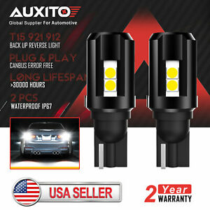 Auxito T15 921 Led Reverse Backup Light Fit For Chevrolet Silverado 2014 2018