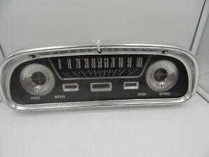 Car Instrument Gauge Panel 1950s Ford Falcon Vintage Control