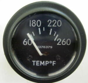 Military Willys Jeep M38 M38a1 G758 Dodge M37 G741 24 Volt Temperature Gauge