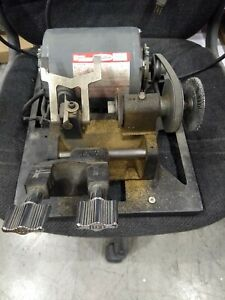 Ilco Manual Key Duplicator Key Machine Used 1 4 Hp