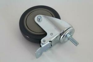 5 Inch Total Lock Urethane Casters Pack Of Four
