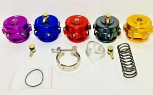 50mm Tial Blow Off Valve Version 1 Holds Up 35psi Cnc Aluminum 90 Day Warranty