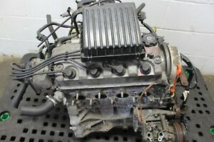 Jdm 92 95 Honda Civic Crx Del Sol Non Vtec Engine D15b Motor Only Auto Version