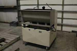 Pfs 300wt Vibratory Deburring System Industrial Tumbler With Media