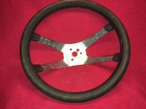 The 500 Vintage Superior Performamce Hot Rat Rod Steering Wheel 4 Spoke 12