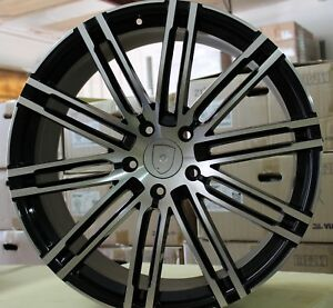 20 Inch Rims Fit Porsche Cayenne Base Turbo S Gts Turbo 2 Machined Wheels