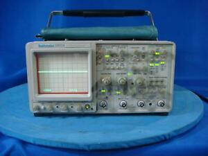 Tektronix 2465a 350 Mhz 4 Channel Analog Oscilloscope