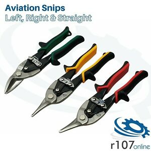 Blue Point Aviation Tin Snips Set L R S Cut As Sold By Snap On