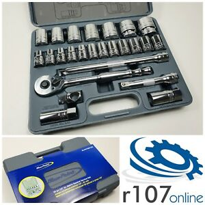 Blue Point 25pc 1 2 Socket Set 10 36mm As Sold By Snap On