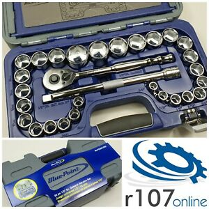Blue Point 33pc 1 2 Socket Set Blpgss1233 As Sold By Snap On
