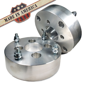 4x100 To 4x110 Us Wheel Adapters 2 Inch Thick 12x1 5 Lug Studs Spacers X 2 Ri