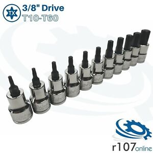 Blue Point 3 8 11pc Torx Socket Set T10 t60 incl Vat As Sold By Snap On