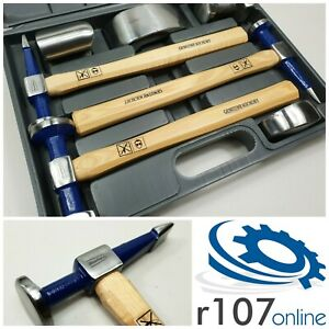 Blue Point 7pc Body Tool Set Hammers Dollies Incl Vat As Sold By Snap On