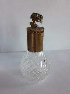 Vintage Old Beautiful Perfume Bottle Art Nouveau