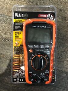 Klein Tools 1000v Auto ranging Trms True Rms Digital Multimeter Mm700