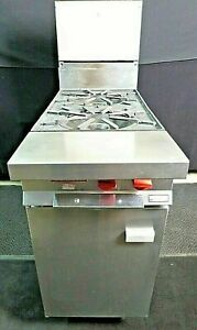 Natural Gas 2 Burner 12 Range Cabinet Base Heavy Duty Vulcan