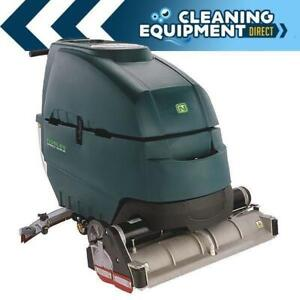 Nobles Ss5 32 Cylindrical Battery Walk behind Sweeper scrubber Refurbished
