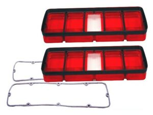 1971 Plymouth Roadrunner Gtx Satellite Taillight Lenses Gaskets