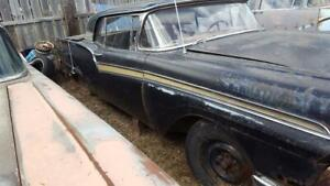 1957 Ford Retractable Parts Cars Two