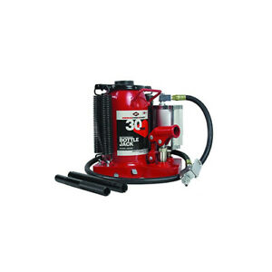 30 Ton Air Hydraulic Bottle Jack Very Heavy Duty Tool Aff Hydraulics